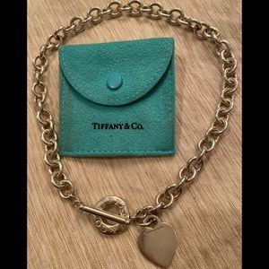 Tiffany & Co Toggle Heart Necklace